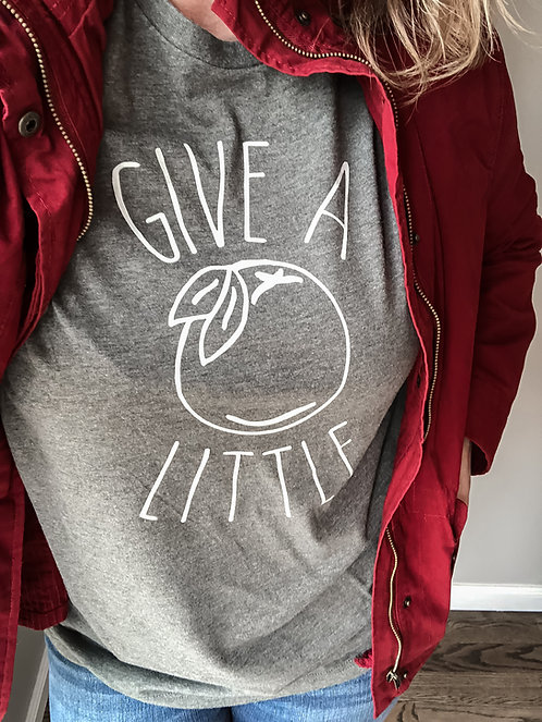 Give A Little- Heather Grey