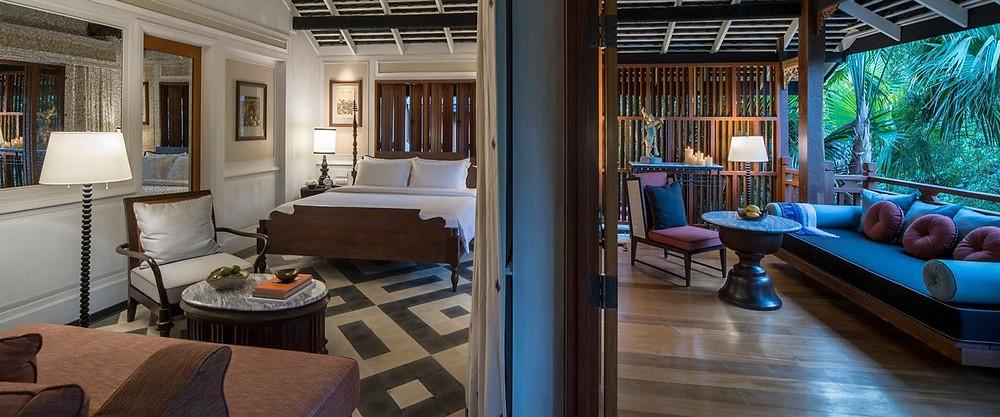 Beautiful Treetop Bedroom Rosewood Luang Prabang