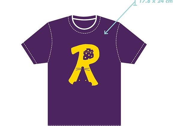 Purple 'R' T-shirt