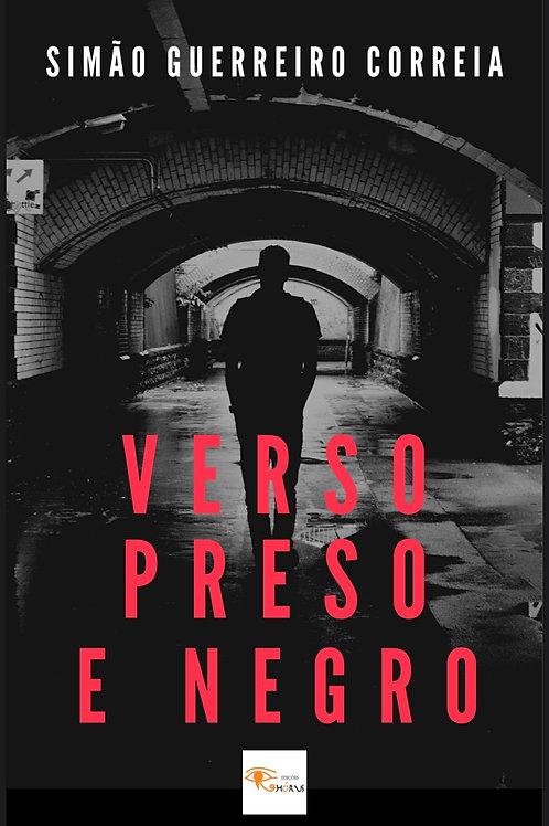 Ebook Verso preso e negro de Simão Guerreiro Correia