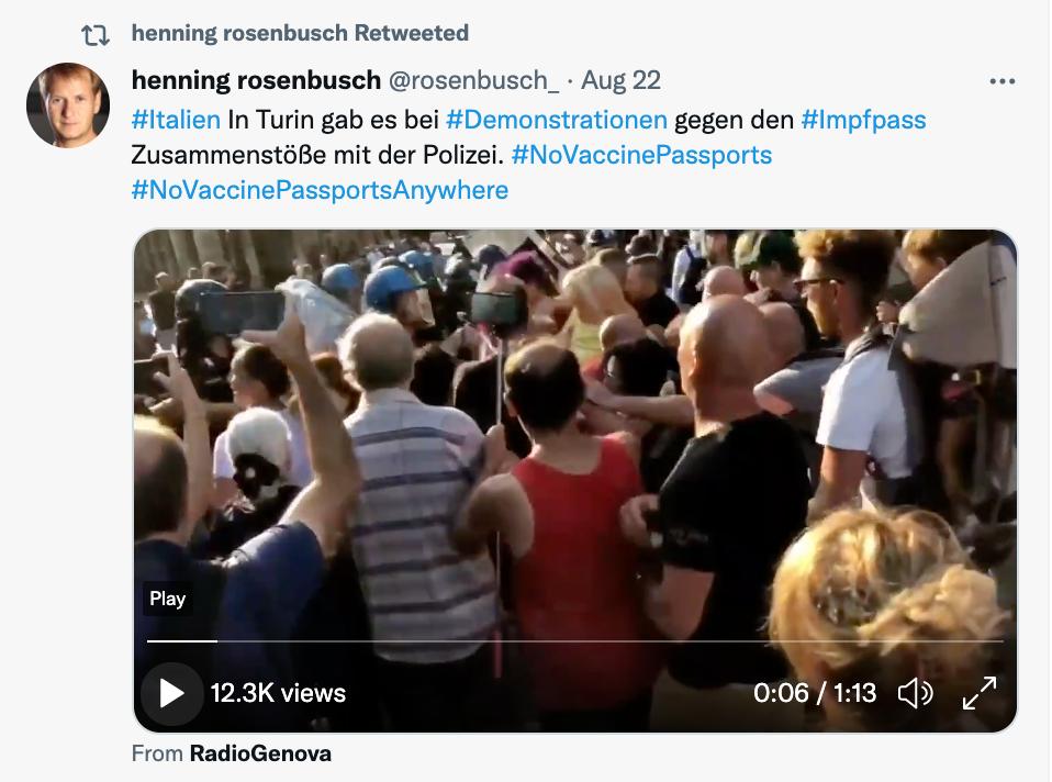 Henning Rosenbusch, Turin, 22.08.21 https://twitter.com/rosenbusch_/status/1429474408310231044