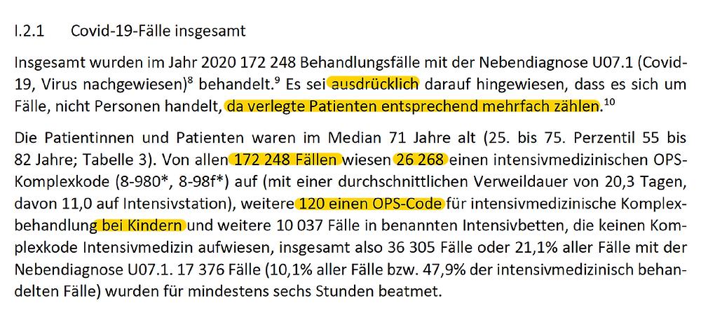 RWI Bericht i.A. BMG Leistungsgeschehen Krankenhaeuser 2020, Kinder Intensivstation, 30.4.21