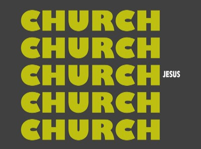 Too Much Church And Not Enough Jesus
