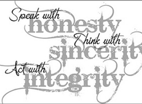 Sincerity.
