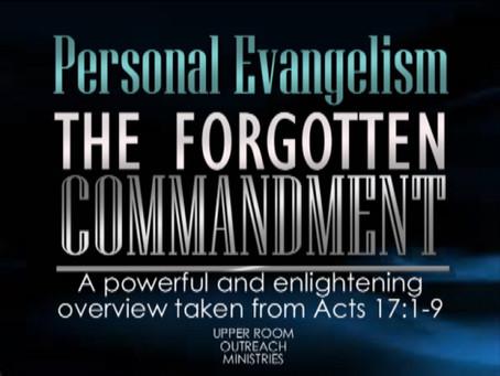 The Forgotten Commandment