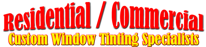 Michigan Window Tinting - Residential and Commercial Window Tinting