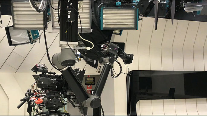 Universal Robots a TV stúdióban