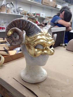 Ram Mask 3/4ths Turn