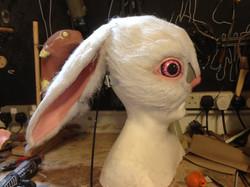 White Rabbit Mask Profile
