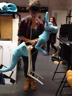 Puppet movement
