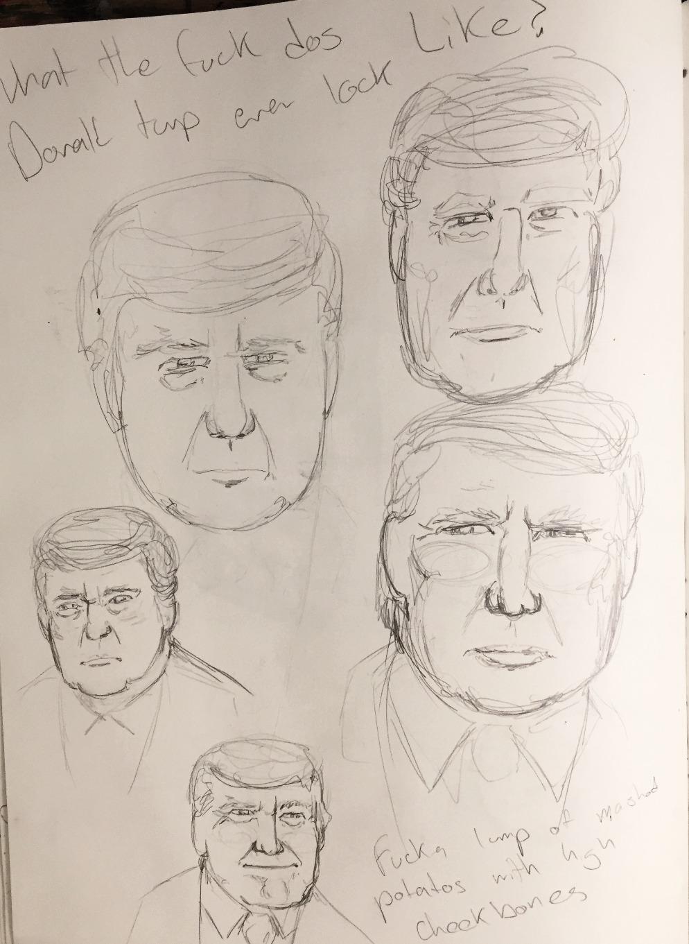 Sketch work