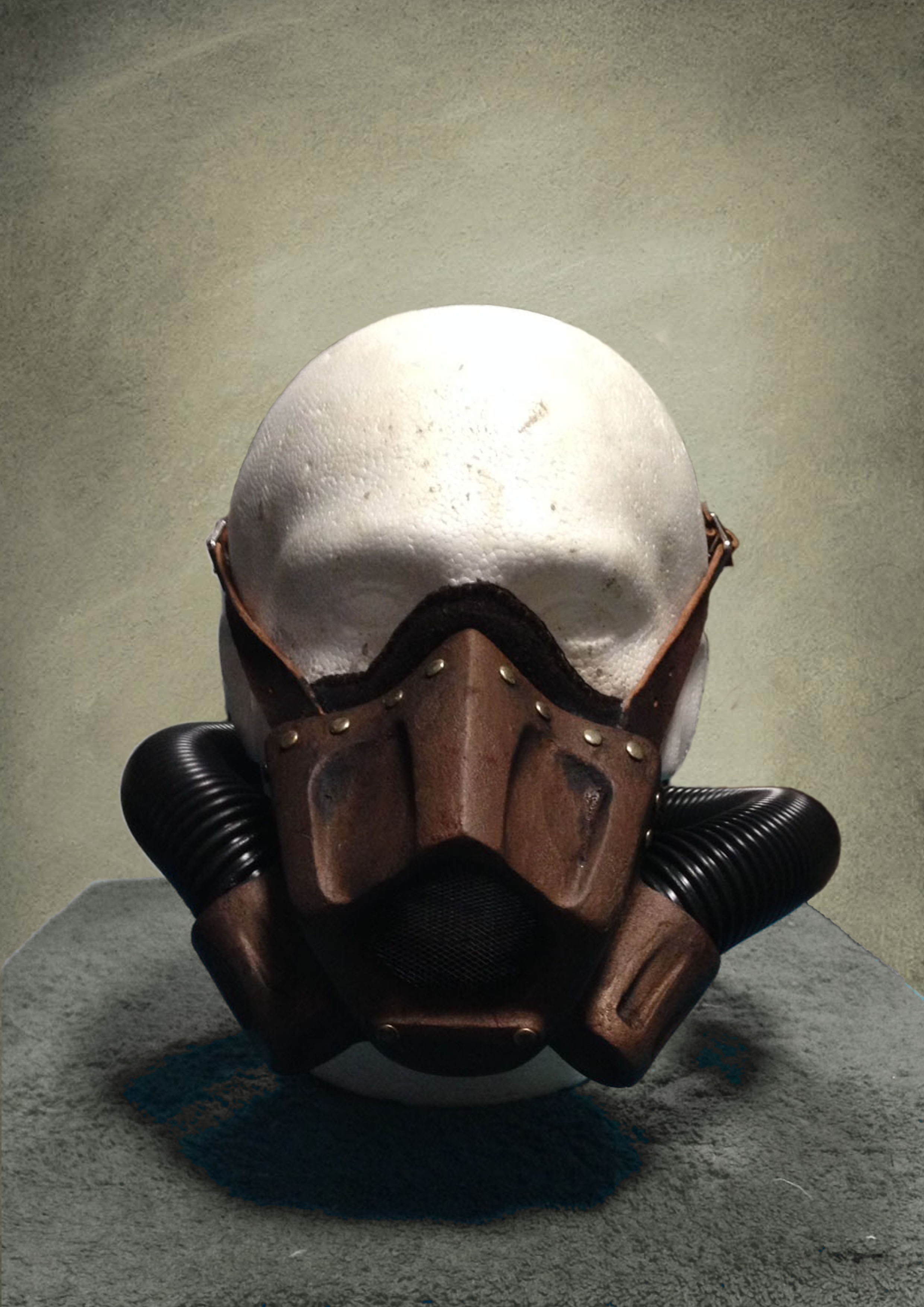 Gas Mask Front