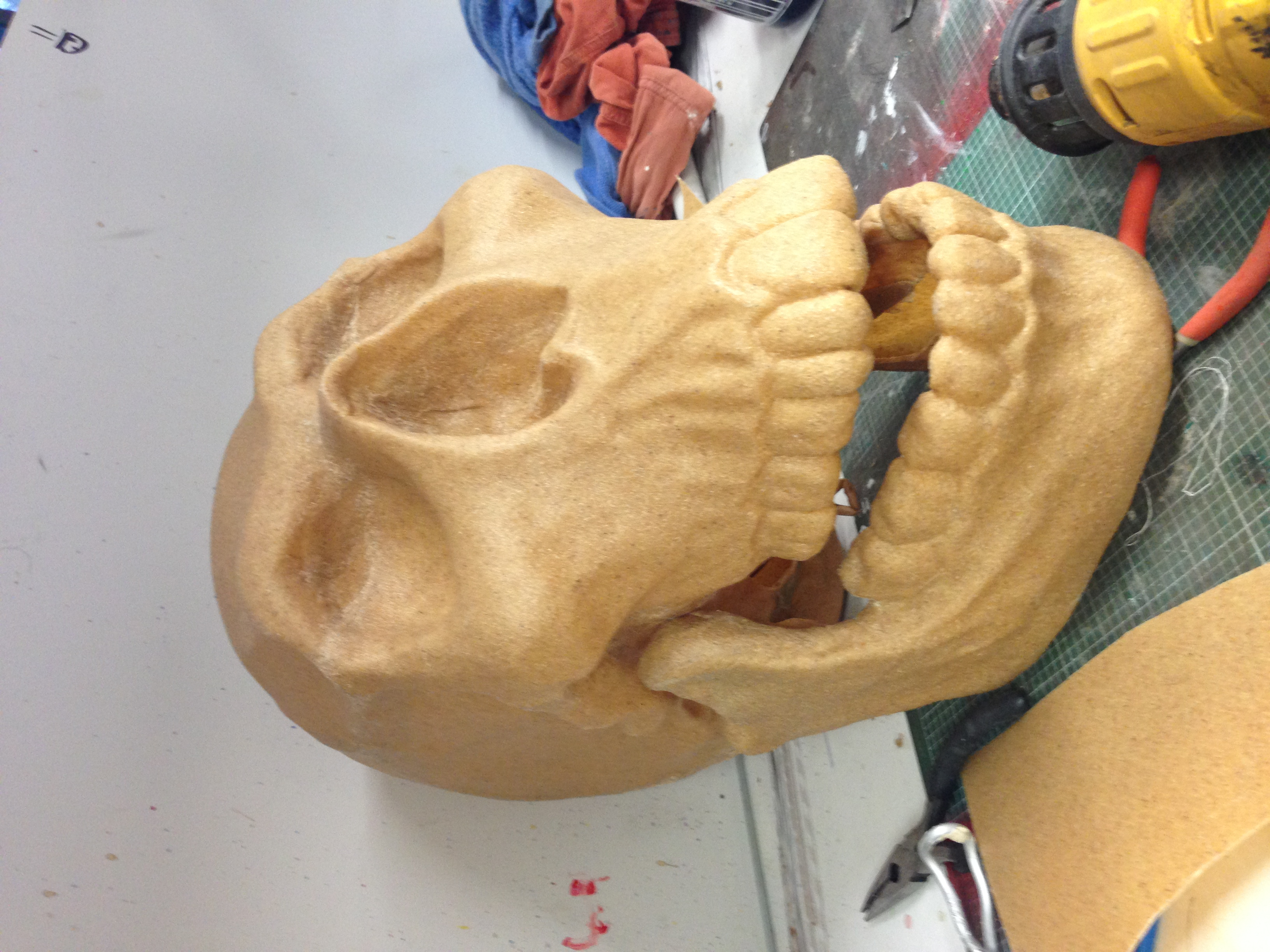 Worbla Skull