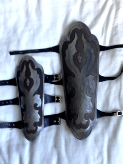 Laser Cut Bracers and Greaves