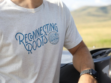 Reconnecting Roots Apparel is Now Available!
