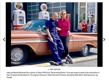 """""""Reconnecting Roots"""" Profiled in the Columbia Daily Herald"""