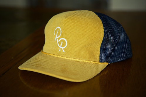 """The Frank Smith"" White Letter Hat"
