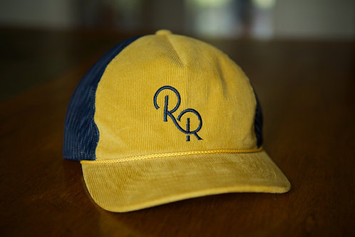 """The Frank Smith"" Blue Letter Hat"