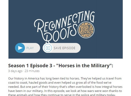 "Listen to Episode 3 of the ""Reconnecting Roots"" podcast!"