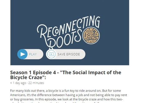 "Listen to Episode 4 of the ""Reconnecting Roots"" podcast!"