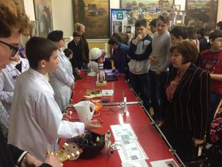 Научно-техническая выставка в музее города Курганинска