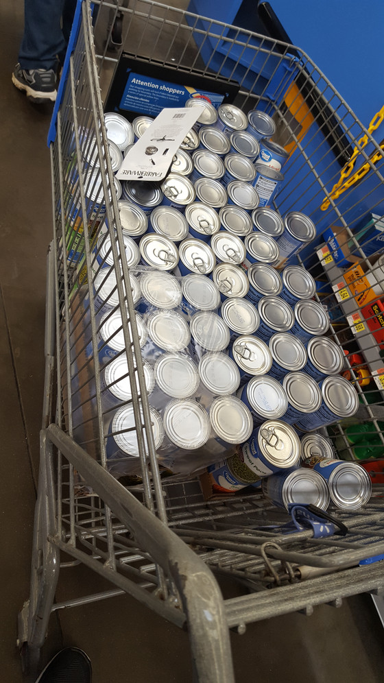 Monthly food drop-offs x Jan19 x 1st Family