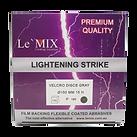 Lightning Strike Velcro Sand Discs GRAY.