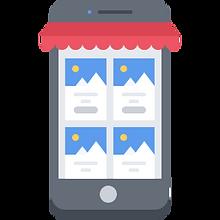 7 mobile, phone, app, shop, shopping, co