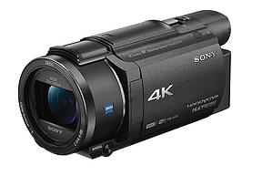 Sony FDRAX53_B 4K HD Video Recording Cam