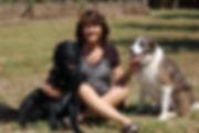 9 Shelly Godfrey with Bear and Sadie.JPG