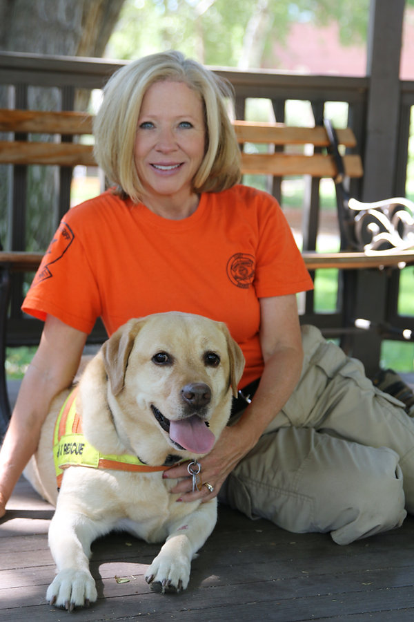 Carol with Search Dog Nala.JPG