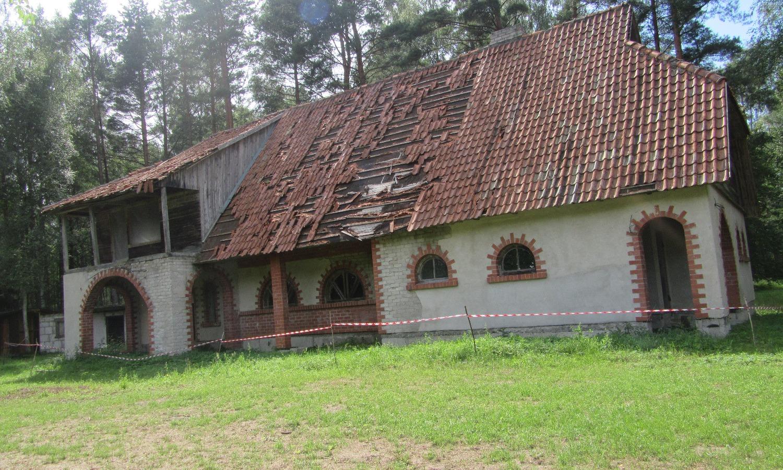 roof in need of repair