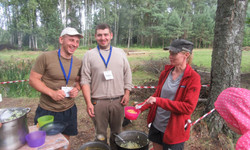 Latvian missionaries kids camp