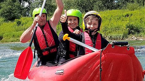Rafting-Abenteuer-Allgäu_Familienrafting mit Kindern