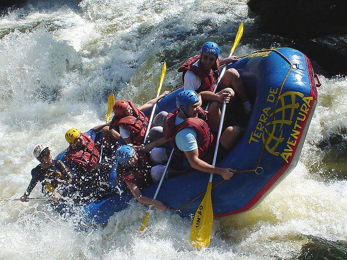 Rafting mit dem Heubethof Allgäu