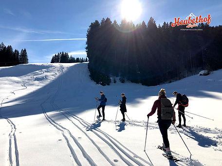 Schneeschuwanderungen-Schneeschuhtouren-Allgäu