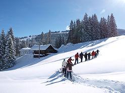Heubethof Allgäu Schneeschuhwandern