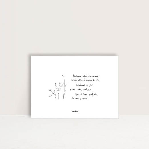 """Carte """" Bonheur et joie """""""