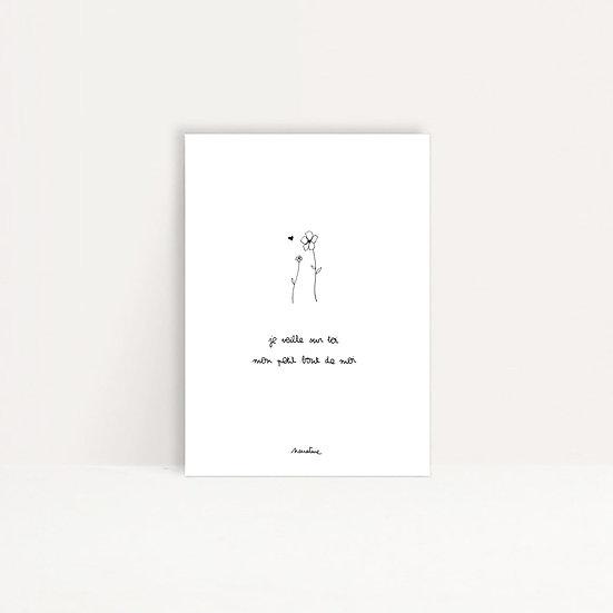 """Carte """" Mon petit bout de moi """""""