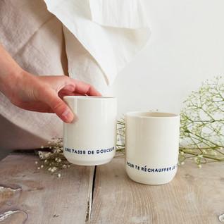 "Tasses duo "" tasse de douceur """
