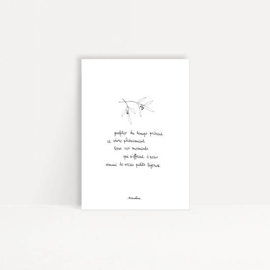 "Carte "" Petits bijoux """