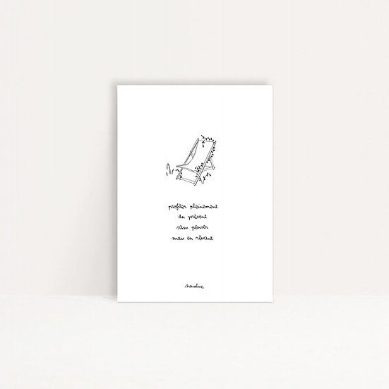 "Carte "" rêver sans penser """