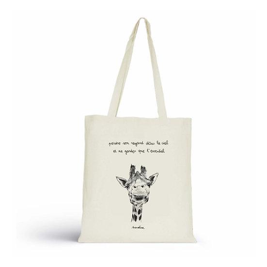 BCBG_Sac coton biologique_Ingrid la girafe