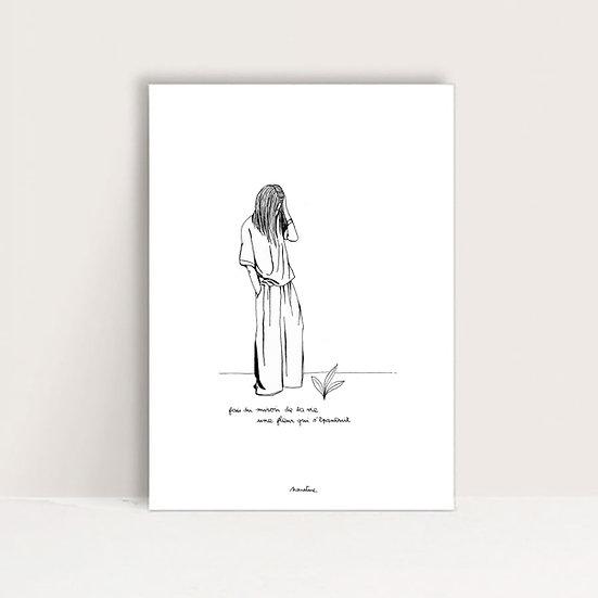 """Mini-Affiche """" Te voir grandir """""""