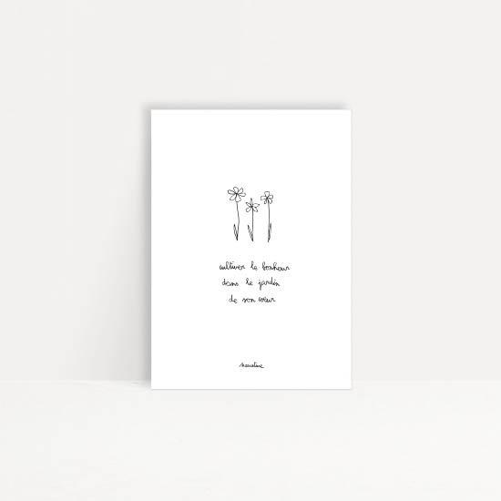 """Carte """" jardinerie """""""