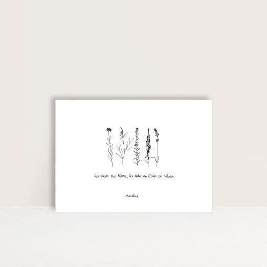 """Carte  Tête en l'air """""""