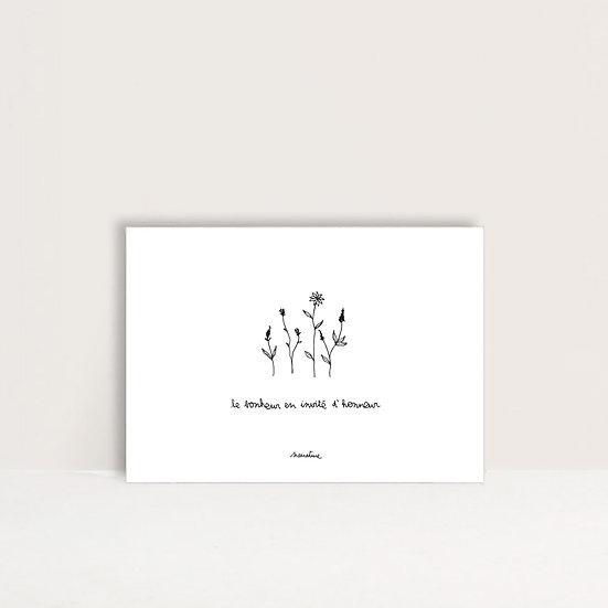 """Carte """" invité d'honneur """""""