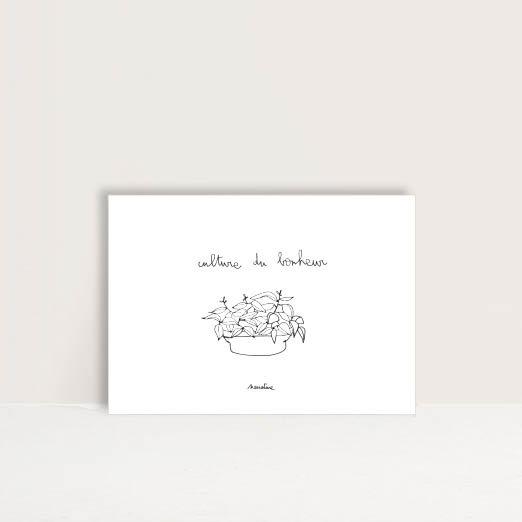 """Carte """" Culture du bonheur """""""