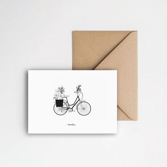 """Carte """" Cado-vélo """""""