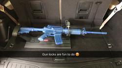 Postal Gun Lock